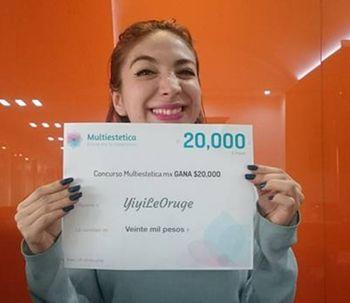 Ganadora del sorteo de Febrero: YiyiLeOruge