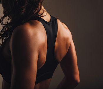 El deporte después de un aumento de senos