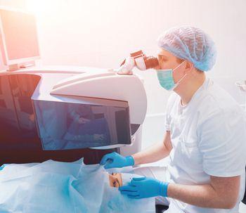 Cirugía láser para eliminar el glaucoma