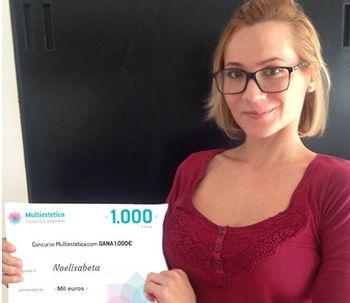 Ganadora del sorteo de octubre: noelisabeta