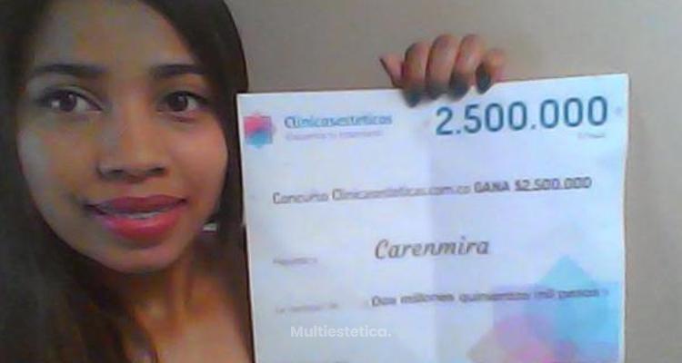 Ganadora del sorteo: Carenmira es la afortunada de Noviembre