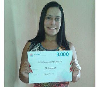 Ganadora de enero: El premio es para Drikaleal