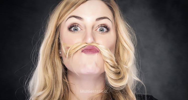 El extraño efecto de la depilación láser facial