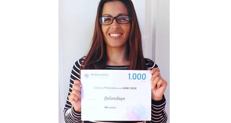 ¡Nuestra ganadora de octubre es Yolandayo!