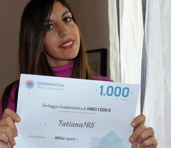 ¡Tatiana165 es la ganadora de febrero!