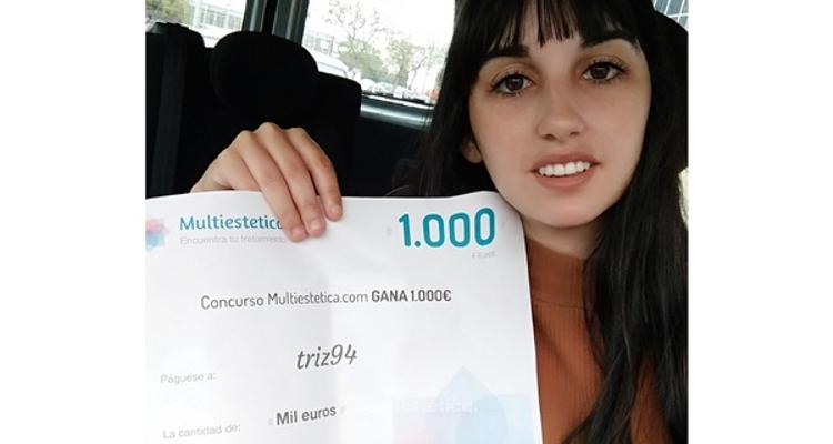 Ganadora de abril: ¡Felicidades Triz94!