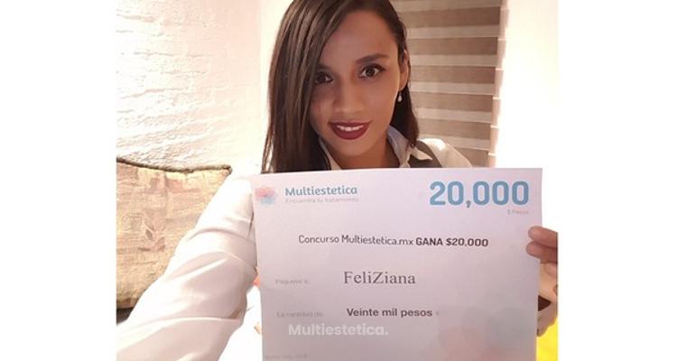 Ganadora de Junio: ¡Felicidades FeliZiana!
