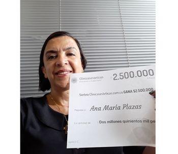 Ganadora de Julio: ¡Felicidades Ana Maria!
