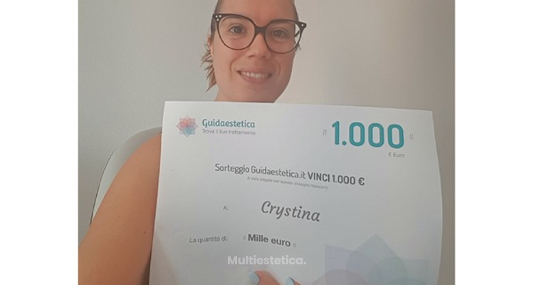 Ganadora de Agosto 2018: ¡Felicidades Crystina!