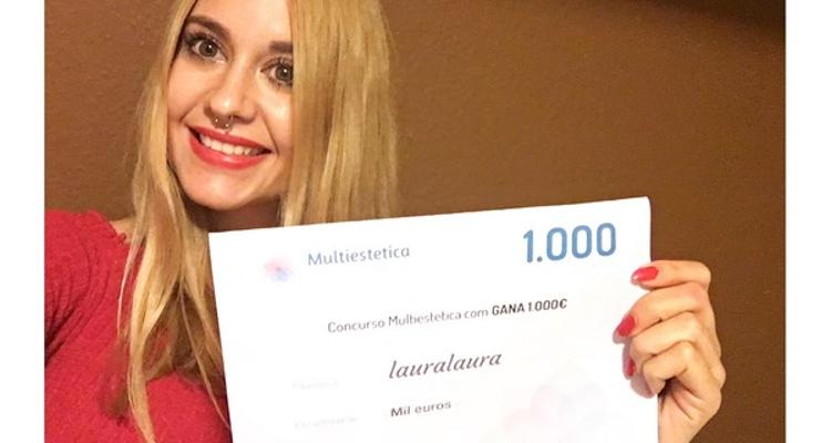 Ganadora de Septiembre: Lauralaura es nuestra afortunada