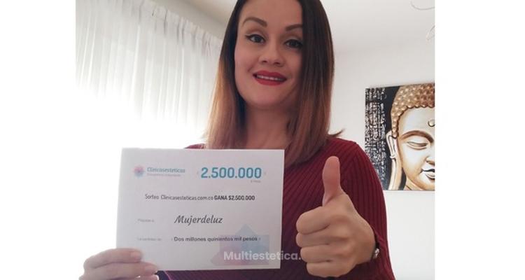 MujerdeLuz ¡nuestra primer ganadora del 2019!