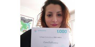 Ganadora del sorteo febrero: ¡Felicidades CamillaBianco!