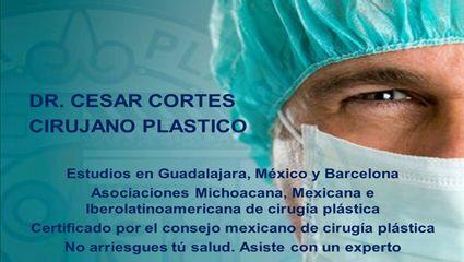 Cirujano plástico y Reconstructivo Certificado.