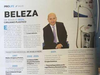 Entrevista al Dr. Reza, revista PROLIFE