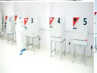 Banco de células en cultivo