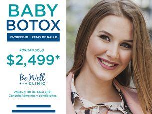 ¡Promoción de locura! Baby Botox