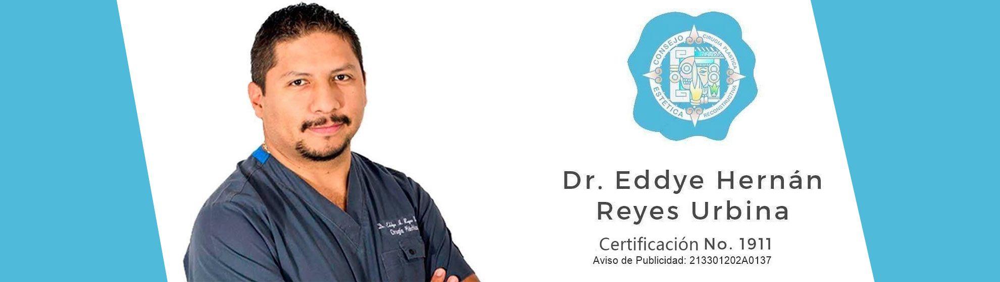 Dr. Eddye Hernán Reyes Urbina