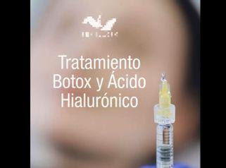 Bótox y Ácido hialurónico