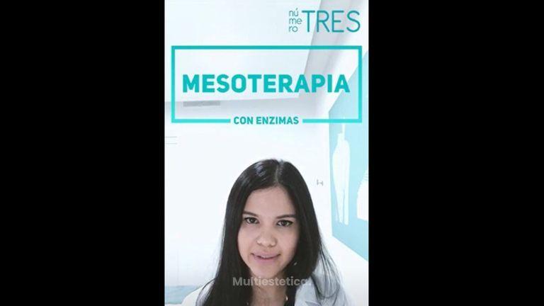Mesoterapia con Enzimas
