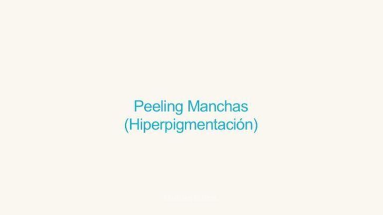 Peeling despigmentante
