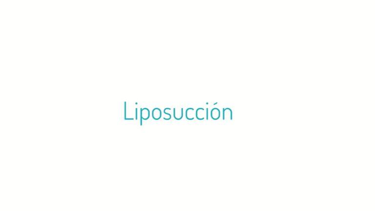 Qué es una liposucción y la diferencia con la lipoescultura