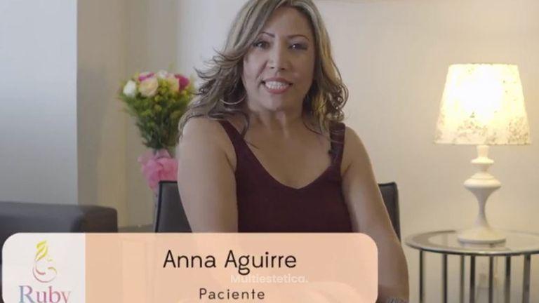 Testimonio Anna Aguirre - Aumento de busto
